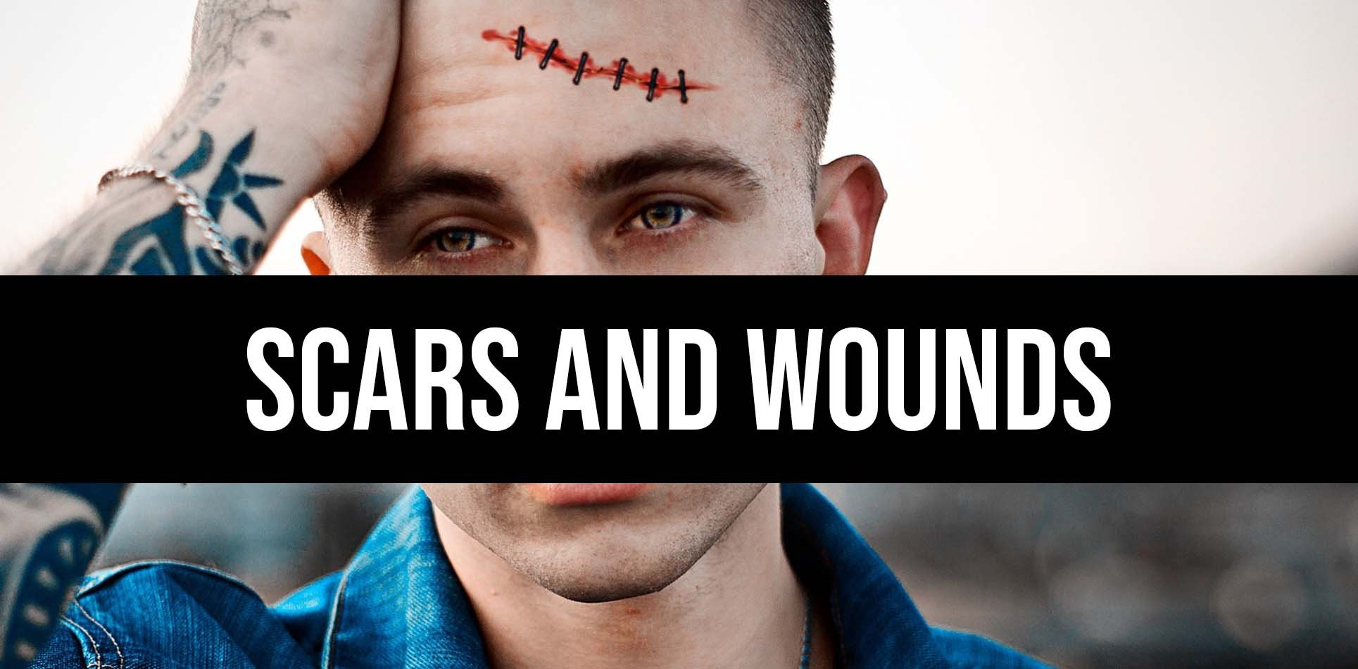 Scars and Wounds Tattoos