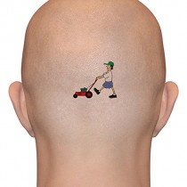 LAWNMOWER MAN temporary tattoos
