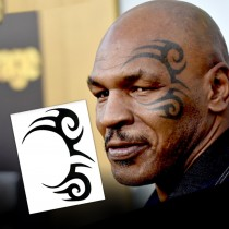 Mike Tyson Tribal Design (2-Pack)
