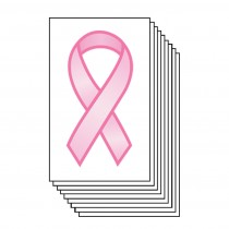 Pink Ribbon (10 Pack)