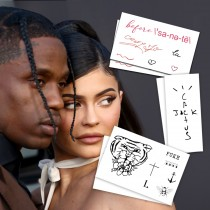 Kylie Jenner Temporary Tattoos (2-Pack)