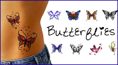 Butterfly-Temporary-Tattoos