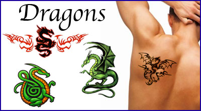Dragon-Temporary-Tattoos