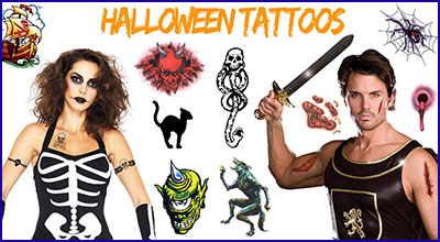 Halloween-Temporary-Tattoos