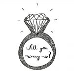 Announce Your Engagement With Temporary Tattoos Custom Designed