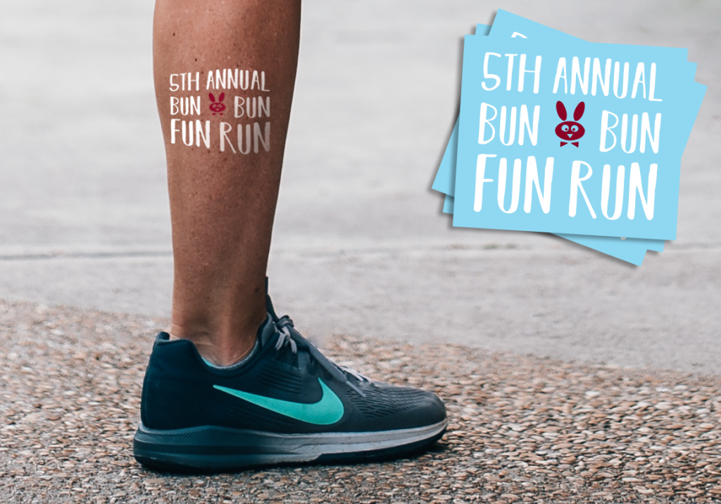 Custom Easter Temporary Tattoos for Fun Runs