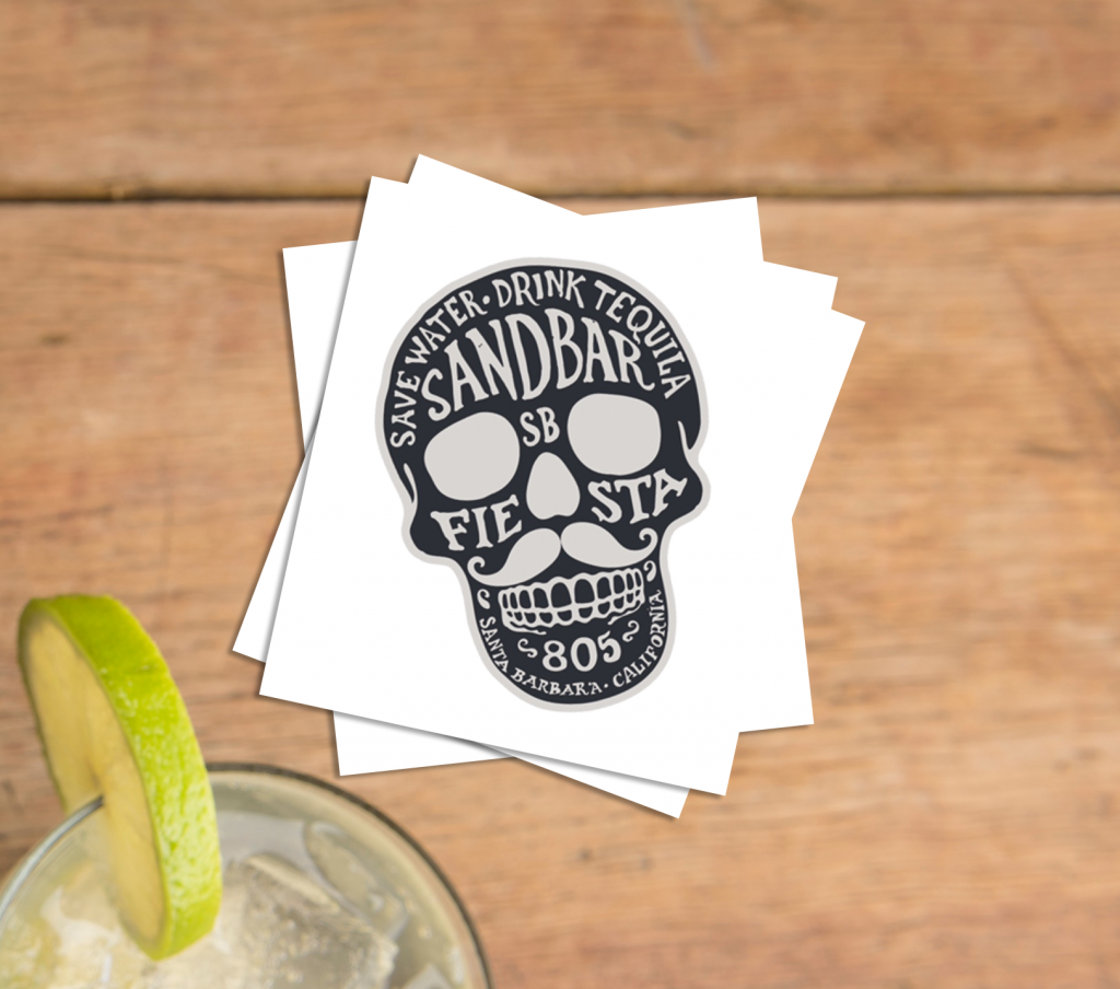 Bar Custom Cinco De Mayo Temporary Tattoos