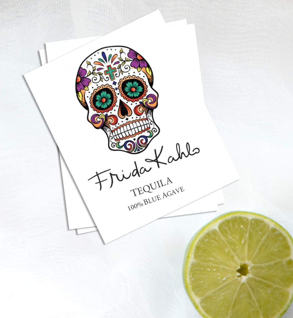 Tequila Custom Cinco De Mayo Temporary Tattoos