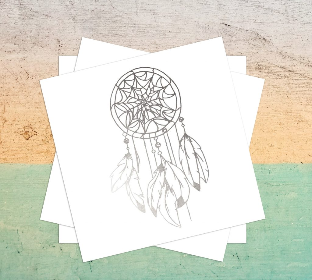 Dream catcher spiritual symbol temporary tattoos